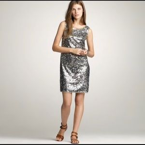 J. Crew Collection | Sequined Fete  Dress | 6